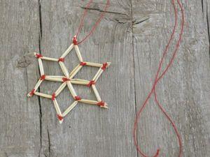 Как сделать соломенную звёздочку. Ярмарка Мастеров - ручная работа, handmade.