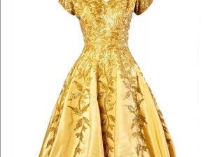 Шедевры ручной работы: расшитое бисером платье из 50-х. Ярмарка Мастеров - ручная работа, handmade.