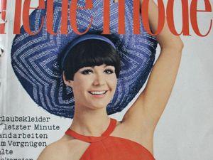 Новая мода Neue Mode 7/1966. Ярмарка Мастеров - ручная работа, handmade.