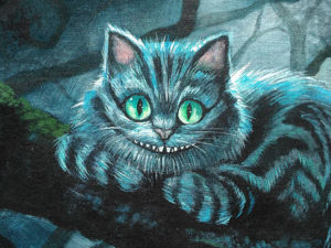Мудрость от Чеширского кота. Ярмарка Мастеров - ручная работа, handmade.