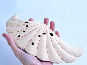 Звучание двухкамерной окарины  «Редкая раковина». Ярмарка Мастеров - ручная работа, handmade.