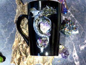 Лепим дракона с драгоценными камнями. Ярмарка Мастеров - ручная работа, handmade.