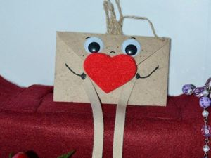 Создаем волшебный конверт для валентинки. Ярмарка Мастеров - ручная работа, handmade.