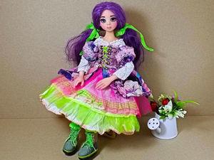 Видео обзор куколки Шафран, одеваю куколку. Ярмарка Мастеров - ручная работа, handmade.
