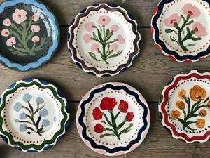 Эти тарелки заставят вас найти любимый рецепт бабушкиного пирога: посуда, поднимающая настроение и аппетит. Ярмарка Мастеров - ручная работа, handmade.