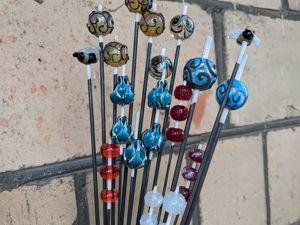 Лэмпворк бусины из печи. Ярмарка Мастеров - ручная работа, handmade.