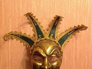 """Венецианская маска """"Джокер"""". Ярмарка Мастеров - ручная работа, handmade."""