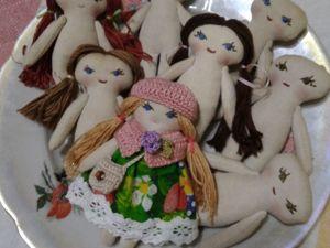 Что-то новенькое:)Текстильные куколки в моём магазине. Ярмарка Мастеров - ручная работа, handmade.
