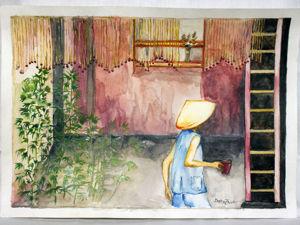 «Полдень в Сайгоне». Ярмарка Мастеров - ручная работа, handmade.