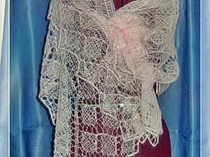 Небольшой, но подробный МК по вязанию квадратной шали. Ярмарка Мастеров - ручная работа, handmade.