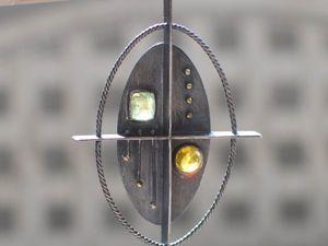 Создаем двусторонний кулон в космическом стиле. Ярмарка Мастеров - ручная работа, handmade.