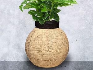 Делаем вазу из гипса. Ярмарка Мастеров - ручная работа, handmade.