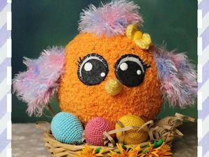 Вяжем пасхальное яйцо быстро и легко. Ярмарка Мастеров - ручная работа, handmade.