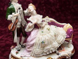 Дрезденские «кружевницы»: Легкость и изящество фарфорового кружева. Ярмарка Мастеров - ручная работа, handmade.