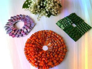 Создаем из цветной бумаги лёгкий декор для украшения дома: видеоурок. Ярмарка Мастеров - ручная работа, handmade.