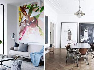 Как с помощью расположенных картин можно изменить визуальное восприятие помещения. Ярмарка Мастеров - ручная работа, handmade.