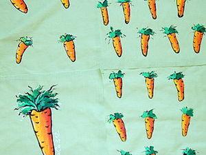Как нарисовать морковку. Ярмарка Мастеров - ручная работа, handmade.