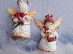 Создаём ангела из ваты. Часть 2. Ярмарка Мастеров - ручная работа, handmade.
