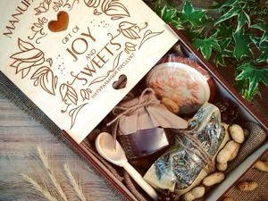 Варианты подарочных наборов от Manufaktura gift of Joy and Sweets. Ярмарка Мастеров - ручная работа, handmade.