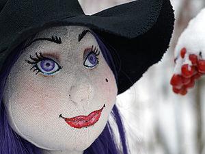 Крепление головы куклы через винт.. Ярмарка Мастеров - ручная работа, handmade.