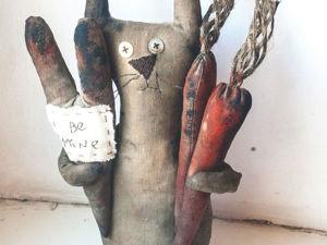 Шьем кофейную игрушку «Мартовский заяц». Ярмарка Мастеров - ручная работа, handmade.