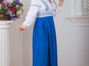 Сарафан Подгрудный Орепей. Ярмарка Мастеров - ручная работа, handmade.