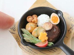 Почти съедобное несъедобное: реалистичные кулинарные миниатюры Mayu Sekiguchi. Ярмарка Мастеров - ручная работа, handmade.