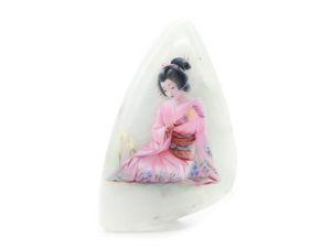 Аукцион: Японка на хризопразе. Ярмарка Мастеров - ручная работа, handmade.