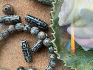 Девять жизней черепахи: про бусины дзи. Ярмарка Мастеров - ручная работа, handmade.