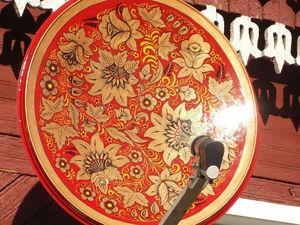 Пенсионер из Иваново расписывает народными узорами... спутниковые тарелки. Ярмарка Мастеров - ручная работа, handmade.