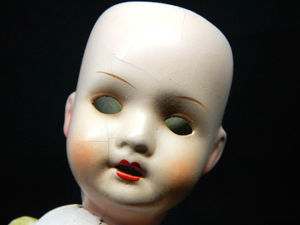 Антикварная куколка 26 см. Ярмарка Мастеров - ручная работа, handmade.
