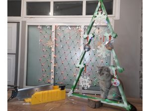 Новогодняя елочка, сборно-разборная, своими руками. Ярмарка Мастеров - ручная работа, handmade.