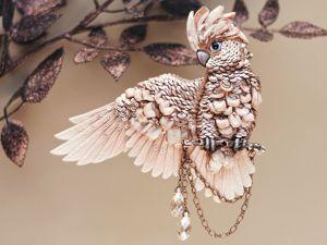 Блиц-анонс новых украшений — Какаду и Колибри. Ярмарка Мастеров - ручная работа, handmade.