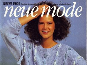 Neue Mode  «Вязание» , лето 1984 г. Фото моделей. Ярмарка Мастеров - ручная работа, handmade.