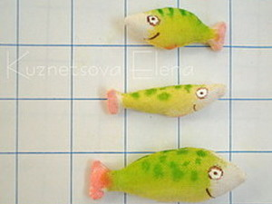 Текстильная рыбка для котика. Ярмарка Мастеров - ручная работа, handmade.