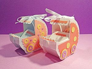 Колясочка – подарочная коробочка для денег. Ярмарка Мастеров - ручная работа, handmade.