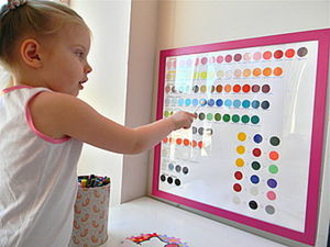 DIY Project: Educational Poster for Little Artists. Livemaster - handmade