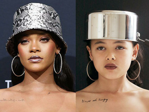 Emma Stone In Waffle Dress And Rihanna With Pot On Her Head: 9-Years-Old Internet Star Makes Parodies On Celebrity Looks. Livemaster - handmade