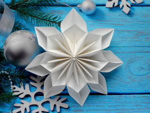 Crafts for Kids: Christmas Paper Snowflake. Livemaster - handmade