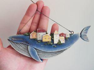 Делаем игрушку чудо-юдо рыба-кит. Ярмарка Мастеров - ручная работа, handmade.