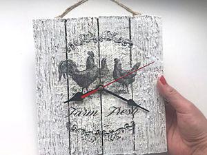 Делаем настенные часы из картона своими руками. Ярмарка Мастеров - ручная работа, handmade.