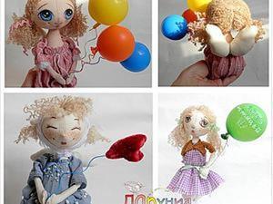 Воздушные причуды. Мастерим аксессуар для куклы. Ярмарка Мастеров - ручная работа, handmade.