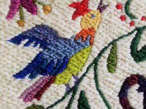 Мастер-класс по созданию вышитого панно «Вальс цветов». Ярмарка Мастеров - ручная работа, handmade.