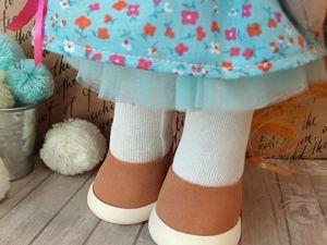 Делаем кукольные туфельки. Ярмарка Мастеров - ручная работа, handmade.