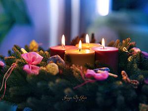 Новогодний Венок своими руками. Ярмарка Мастеров - ручная работа, handmade.