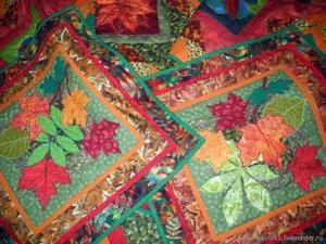 Пэчворк покрывало в спальню ОСЕНЬ — современное лоскутное шитье в интерьере — лоскутное покрывало, лоскутный плед, лоскутное одеяло, панно, подушка!!. Ярмарка Мастеров - ручная работа, handmade.