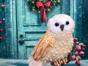 Учимся делать декоративный снег. Ярмарка Мастеров - ручная работа, handmade.