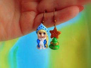 Снегурочка. Создаем новогоднее украшение. Ярмарка Мастеров - ручная работа, handmade.