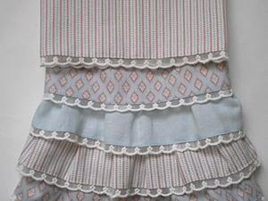 Мастер-класс: юбка для куклы с оборками. Ярмарка Мастеров - ручная работа, handmade.