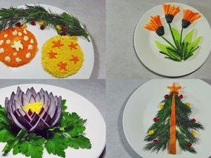 8 Новогодних (и не только) украшений для салатов. С ними любой салат станет праздничным!. Ярмарка Мастеров - ручная работа, handmade.